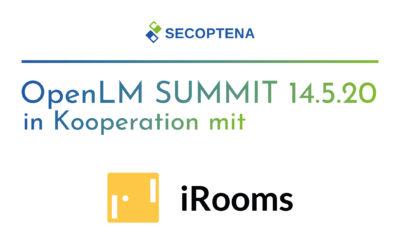 OpenLM Summit am 14.05.2020 – Virtuelle Konferenz in Zusammenarbeit mit iRooms