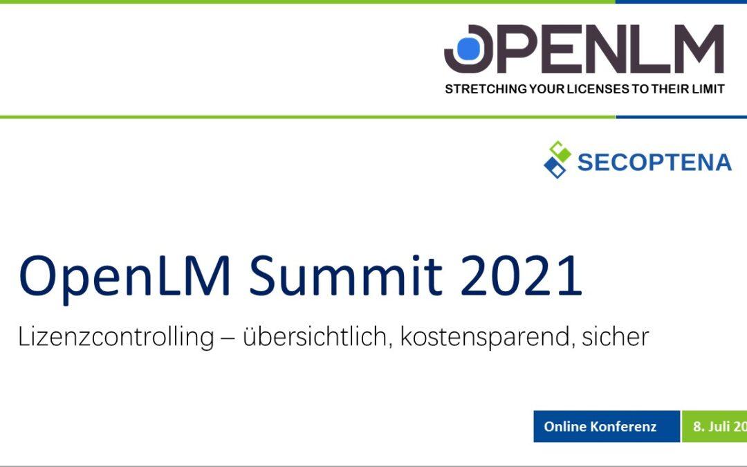 Einladung zum OpenLM Summit am 8. Juli 2021